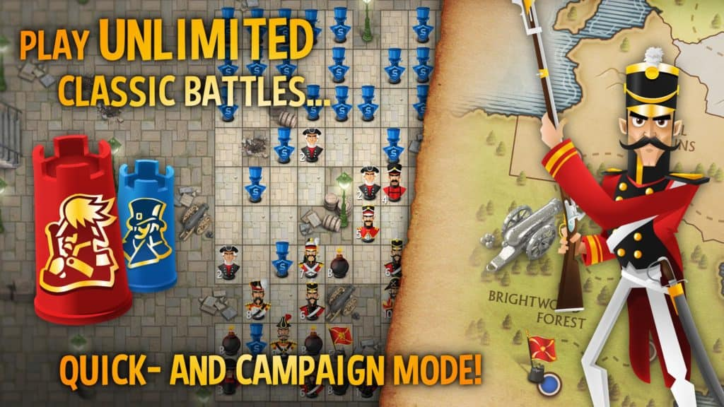 Stratego game app