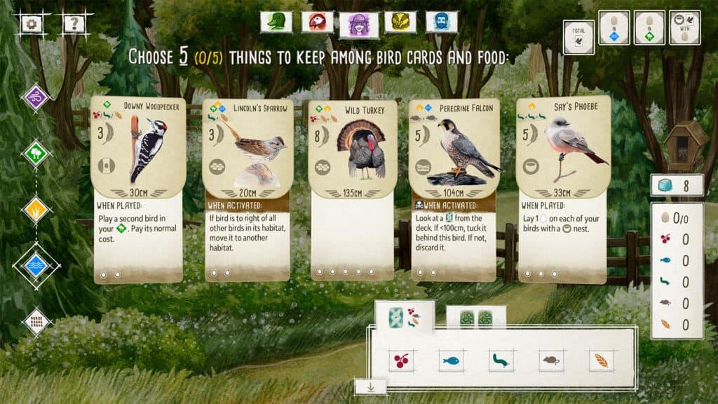 Wingspan Board Game App 2021