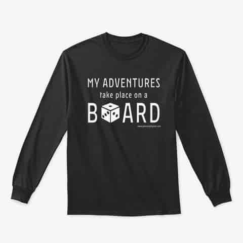 My Adventures Take Place On A Board