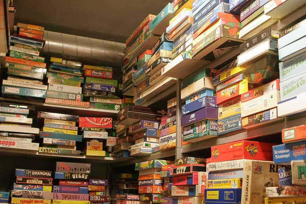 Board Game Organization Tips