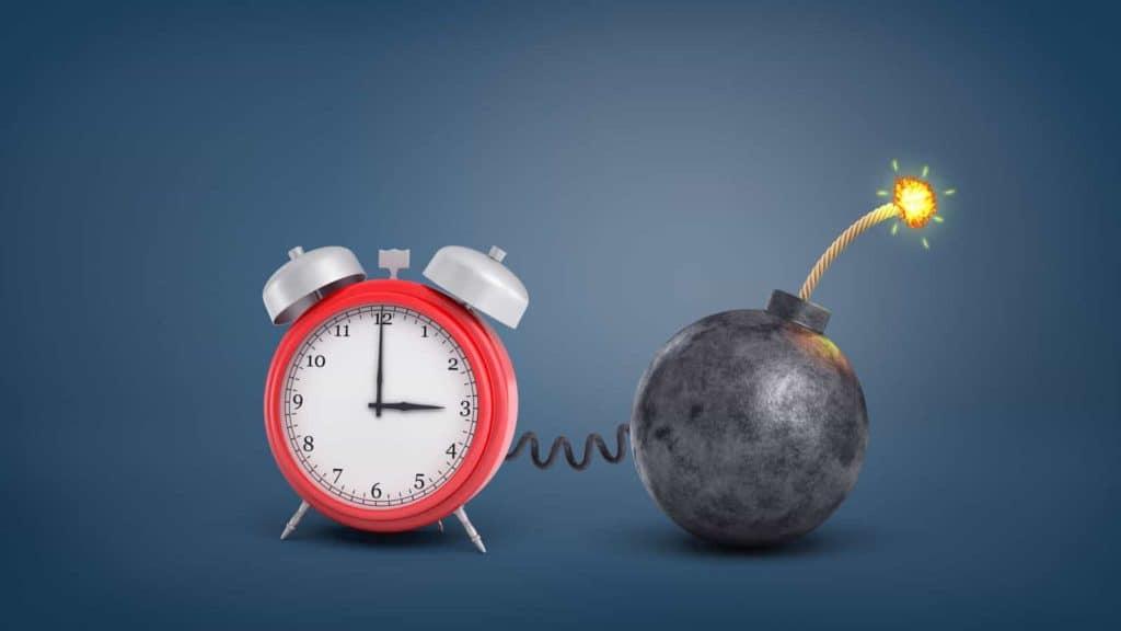 Game Night Ticking Clock