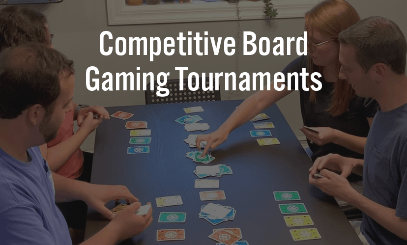 Competitive Board Gaming Tournaments