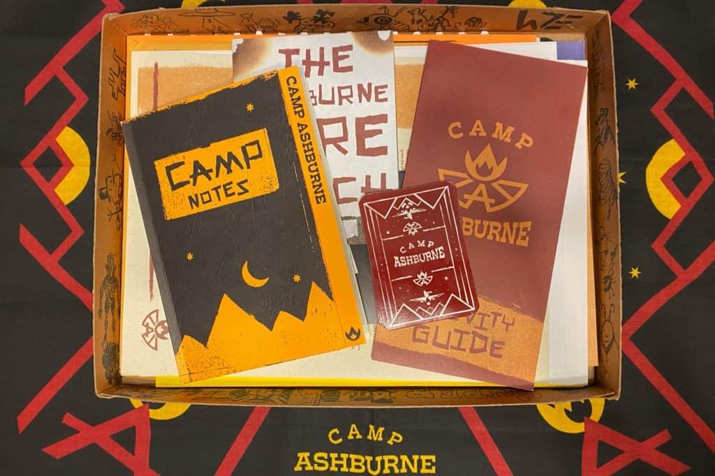 Camp Calamity Box Contents