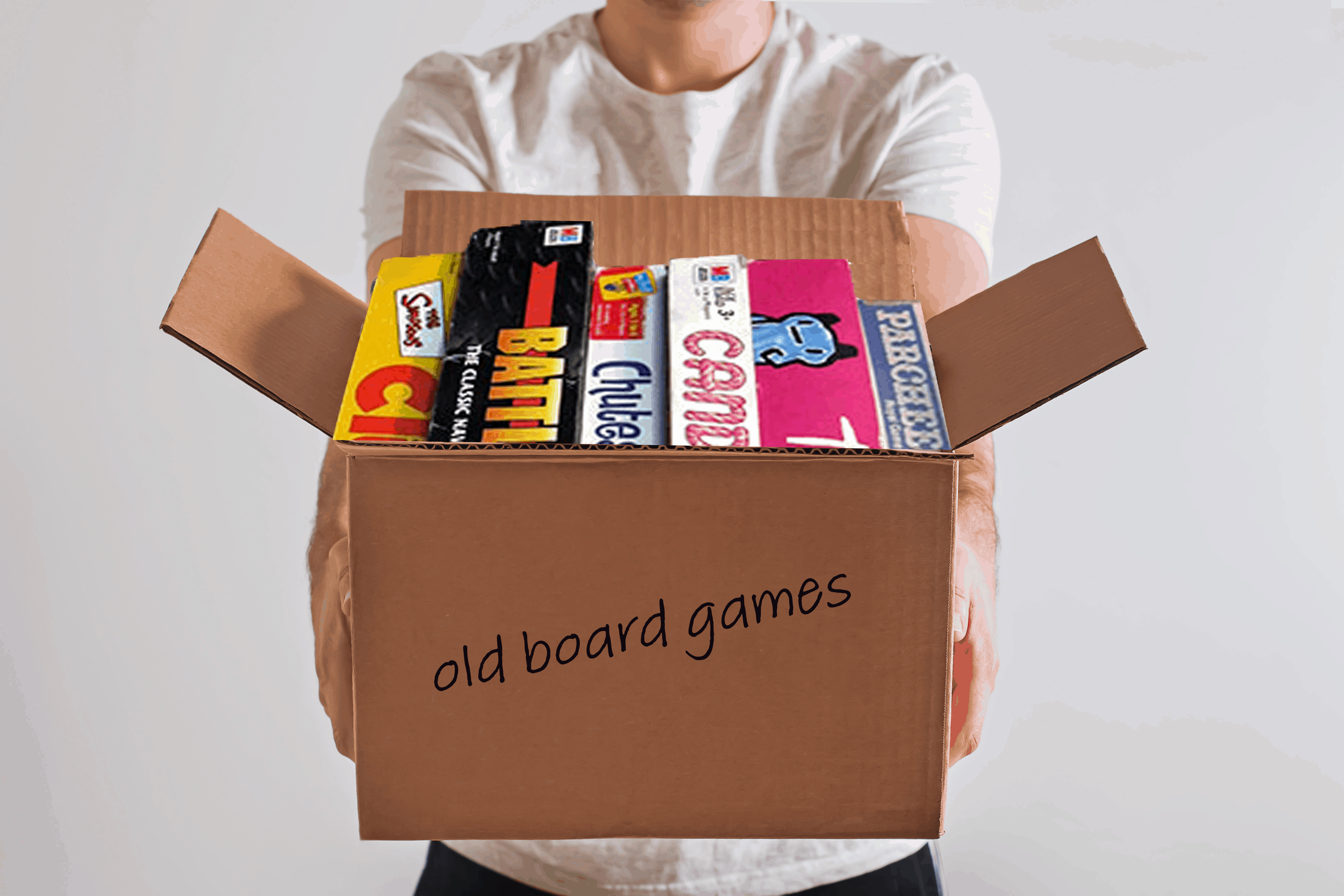 Where to donate old board games