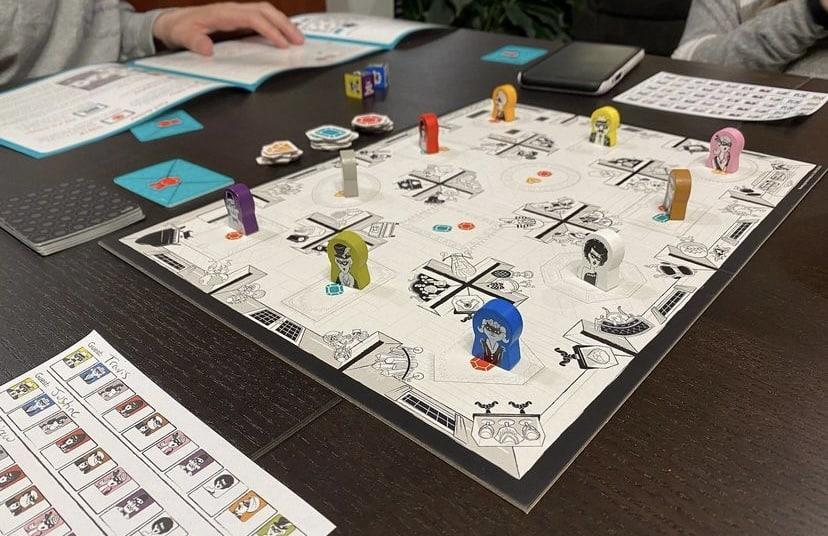Suspicion Board Game